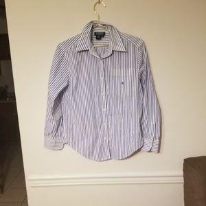 Petite Ralph Laurn button up shirt ❤